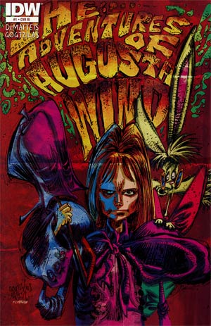 Adventures Of Augusta Wind #1 Incentive Vasillis Gogtzilas Rock Poster Variant Cover