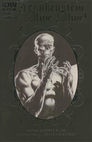 Frankenstein Alive Alive #2 Incentive Bernie Wrightson Sketch Cover