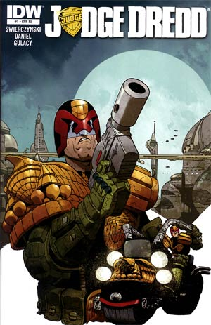 Judge Dredd Vol 4 #1 Incentive Carlos Ezquerra Variant Cover