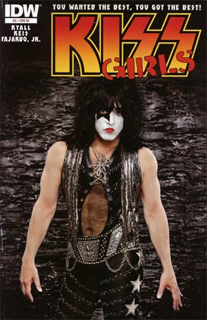 KISS Vol 2 #6 Incentive Photo Variant Cover