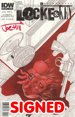 Locke & Key Grindhouse One Shot Incentive Signed By Joe Hill