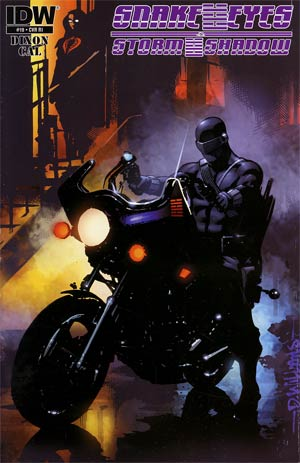 Snake Eyes & Storm Shadow #19 Incentive David Williams Rock Poster Variant Cover
