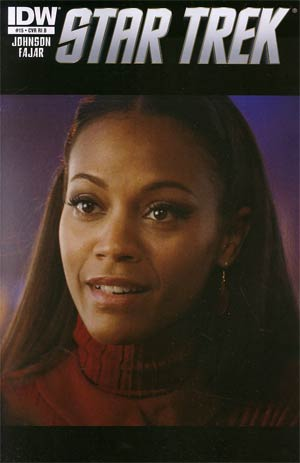 Star Trek (IDW) #15 Incentive Photo Variant Cover