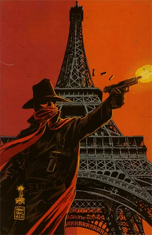 Shadow Vol 5 #8 Incentive Francesco Francavilla Virgin Cover
