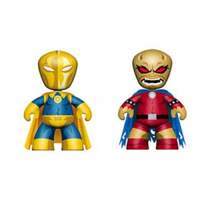 DC Universe Mini Mez-Itz 2-Pack Series 2 Doctor Fate & Etrigan
