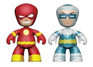 DC Universe Mini Mez-Itz 2-Pack Series 2 Flash & Captain Cold