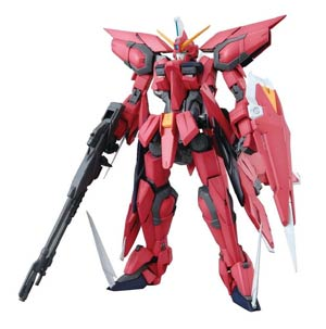 Gundam Model Kit Action Figure Master Grade 1/100 Scale - Aegis Gundam Z.A.F.T. Mobile Suit GAT-X303 (Gundam Seed)