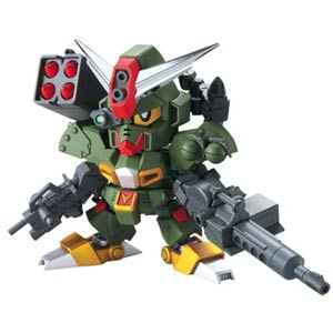 Gundam Model Kit Action Figure SD Super-Deformed BB#375 Command Gundam (Legend BB)