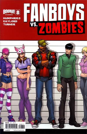 Fanboys vs Zombies #8 Regular Cover B Eddie Nunez