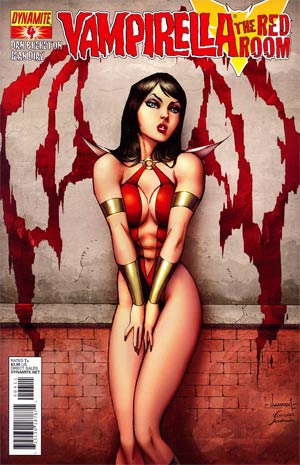 Vampirella Red Room #4 Ale Garza Cover