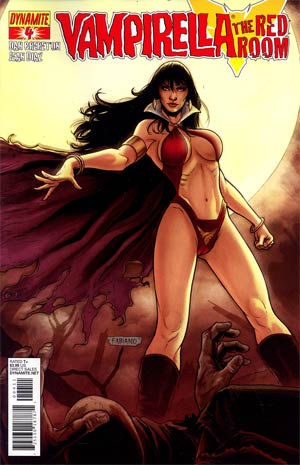 Vampirella Red Room #4 Fabiano Neves Cover