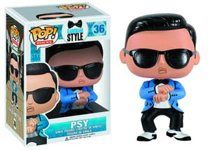 POP Rocks 36 Gangnam Style Psy Vinyl Figure