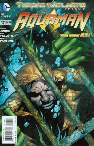 Aquaman Vol 5 #17 Regular Paul Pelletier Cover (Throne Of Atlantis Epilogue)