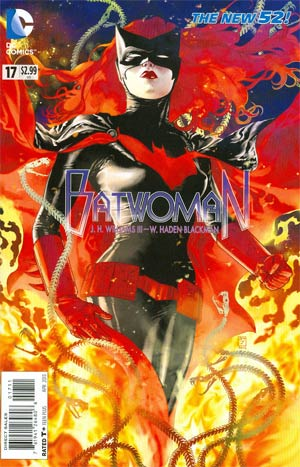 Batwoman #17 Regular JH Williams III Cover