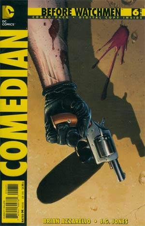 Before Watchmen Comedian #6 Combo Pack With Polybag