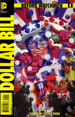 Before Watchmen Dollar Bill #1 Regular Steve Rude Cover