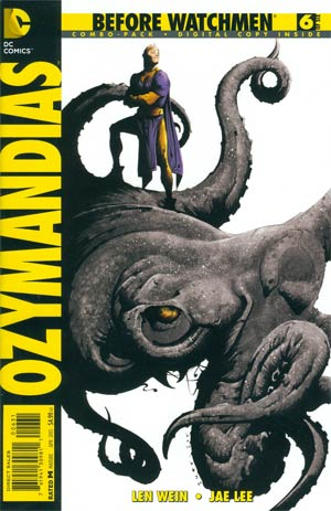 Before Watchmen Ozymandias #6 Combo Pack With Polybag