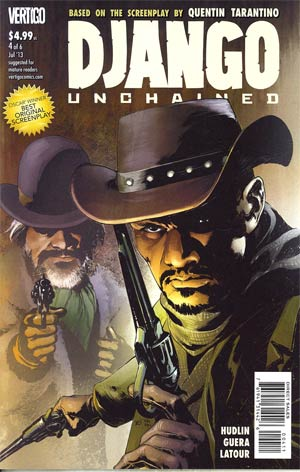Django Unchained #4 Regular Frank Quitely Cover