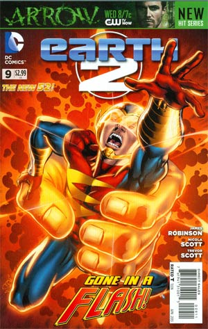 Earth 2 #9 Regular Nicola Scott Cover