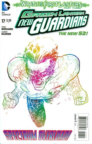 Green Lantern New Guardians #17 Regular Aaron Kuder Cover (Wrath Of The First Lantern Tie-In)