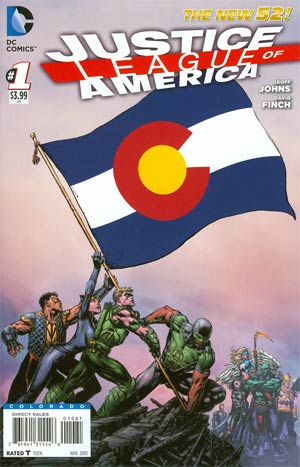 Justice League Of America Vol 3 #1 Variant Colorado Flag Cover