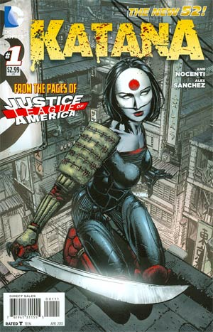 Katana #1 Regular David Finch Cover
