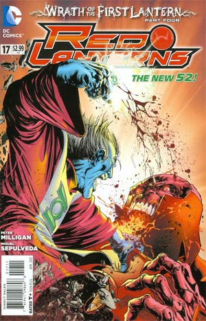 Red Lanterns #17 Regular Miguel Sepulveda Cover (Wrath Of The First Lantern Tie-In)