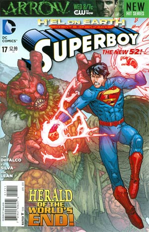 Superboy Vol 5 #17 (Hel On Earth Tie-In)