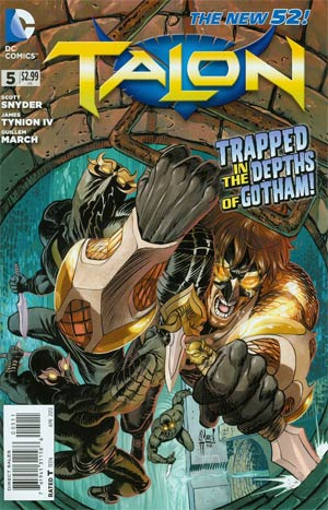 Talon #5 Regular Guillem March Cover