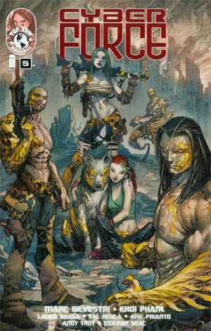 Cyberforce Vol 4 #5 Cover A Regular Marc Silvestri Cover