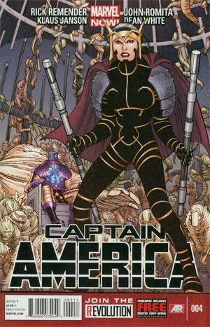 Captain America Vol 7 #4 Regular John Romita Jr Cover