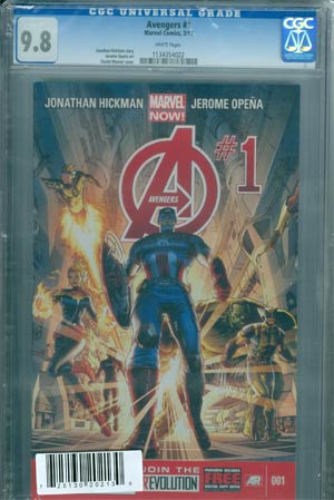 Avengers Vol 5 #1 DF Exclusive CGC 9.8