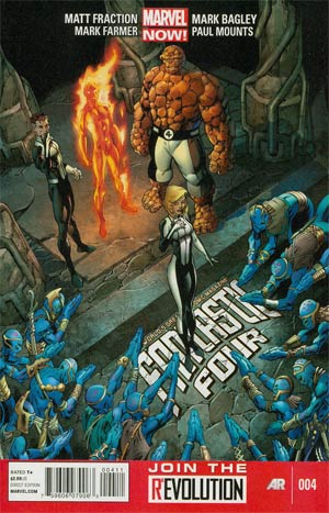 Fantastic Four Vol 4 #4 Regular Mark Bagley Cover