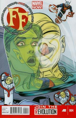 FF Vol 2 #4 Regular Mike Allred Cover