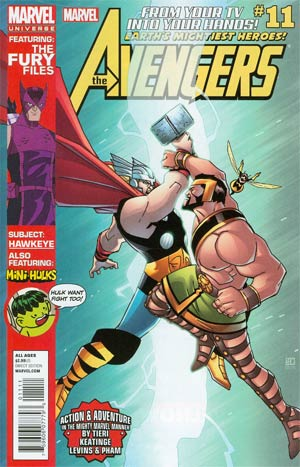 Marvel Universe Avengers Earths Mightiest Heroes #11