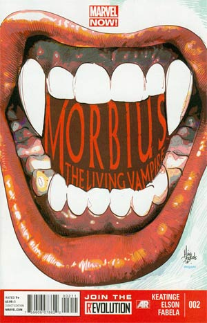 Morbius The Living Vampire Vol 2 #2 Regular Mike Deodato Jr Cover