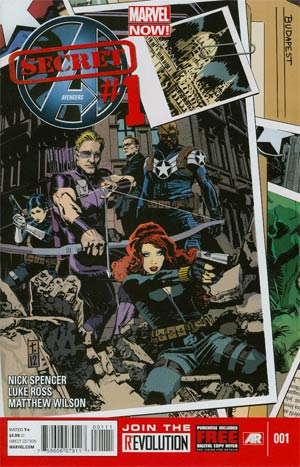 Secret Avengers Vol 2 #1 Regular Tomm Coker Cover