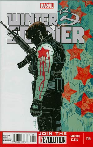 Winter Soldier #15 Cover A Regular Declan Shalvey Cover