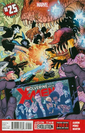 Wolverine And The X-Men #25 Regular Ramon Perez Cover