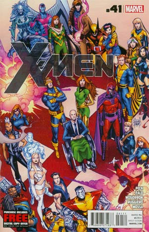 X-Men Vol 3 #41 Regular Adam Kubert Cover