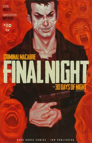Criminal Macabre Final Night 30 Days Of Night Crossover #3
