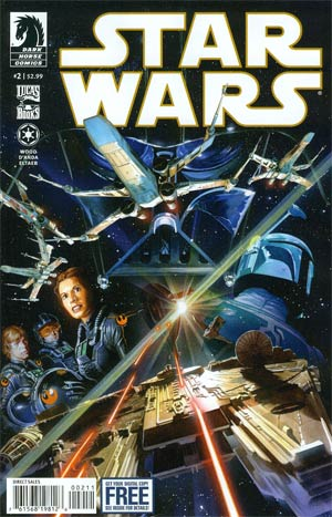 Star Wars (Dark Horse) Vol 2 #2 Regular Alex Ross Cover