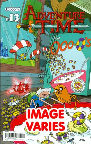 DO NOT USE Adventure Time #13 Regular Cover (Filled Randomly With 1 Of 2 Covers)