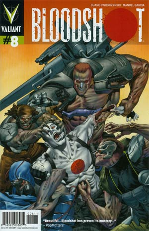 Bloodshot Vol 3 #8 Regular Arturo Lozzi Cover