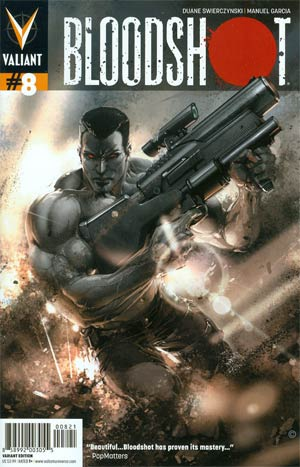Bloodshot Vol 3 #8 Variant Trevor Hairsine & Clayton Crain Cover