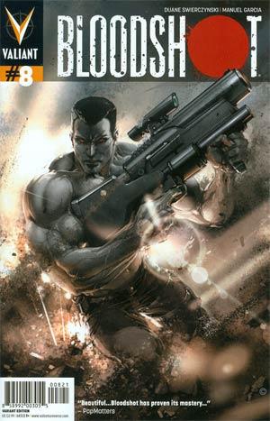 Bloodshot Vol 3 #8 Variant Trevor Hairsine & Clayton Crain Cover