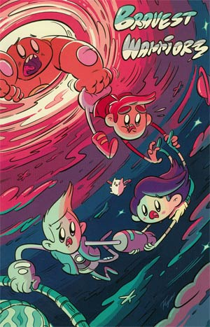Bravest Warriors #1 NYCC Exclusive Variant Cover