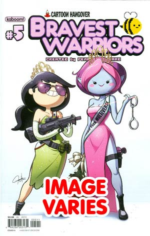 DO NOT USE (DUPLICATE LISTING) Bravest Warriors #5 Regular Cover (Filled Randomly With 1 Of 2 Covers)