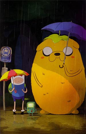 Adventure Time #10 Cover E DF Exclusive Variant Cover