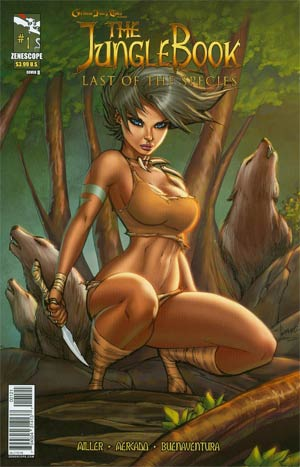 Grimm Fairy Tales Presents Jungle Book Last Of The Species #1 Regular Cover B Ale Garza